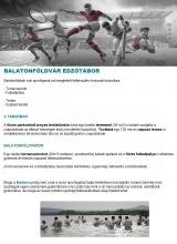 Táborhelyszínek Balatonföldvár Edzőtábor