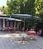 Táborhelyszínek, Balatonföldvár Panzió és Tábor, napozóterasz