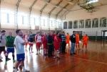 Táborhelyszín, Pilismarót Ifjúsági Tábor, sportcsarnok belső